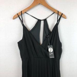 Black Maxi Chiffon  Dress 10